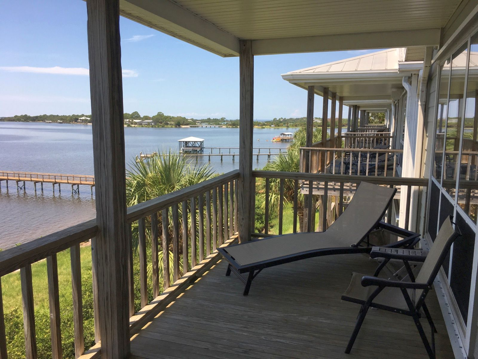 Gulf Front Condominium Rentals in Cedar Key FL