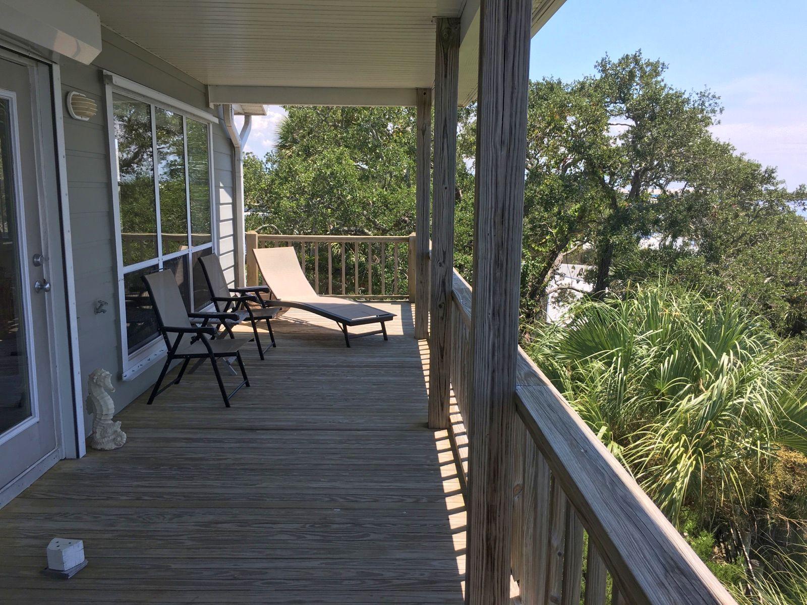 Gulf Front Condo Rental in Cedar Key FL
